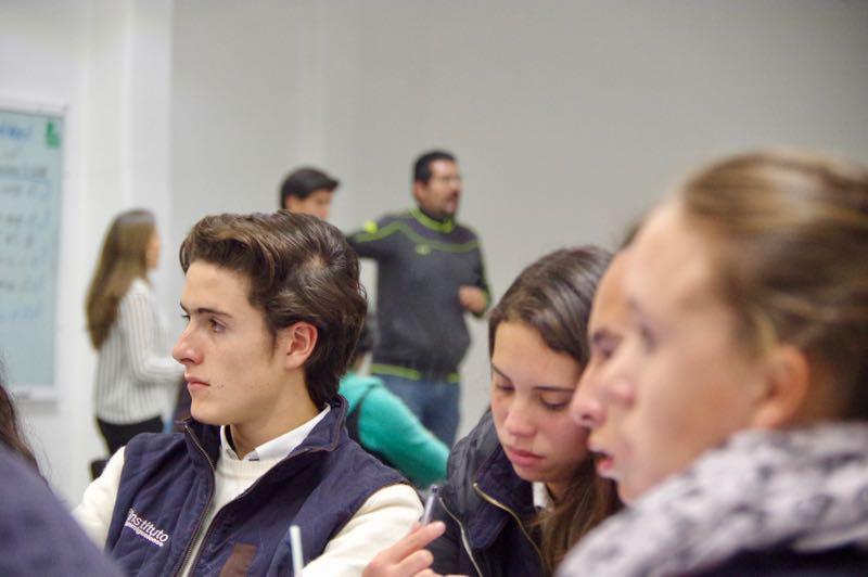 Alumnos Prepa Sanmiguelense en Modelo de Naciones Unidas