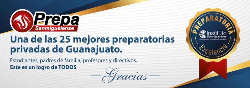 Prepa Sanmiguelense Preparatoria de Excelencia Guanajuato