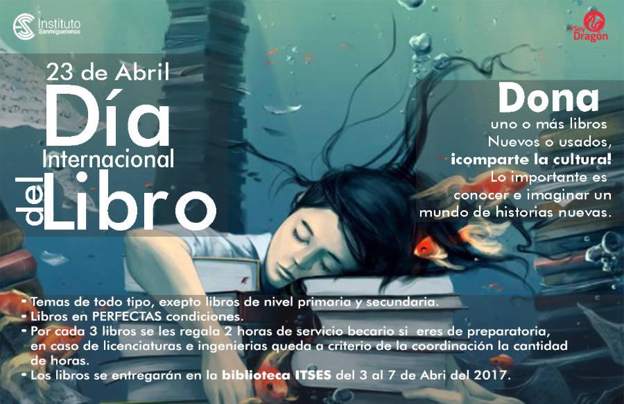 Dia Internacional del Libro Instituto Sanmiguelense