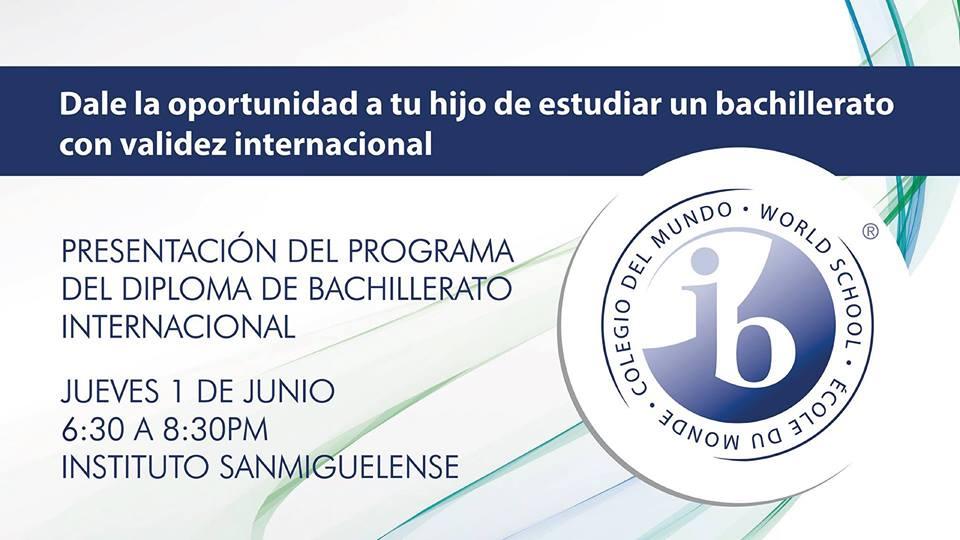 Presentación Programa IB